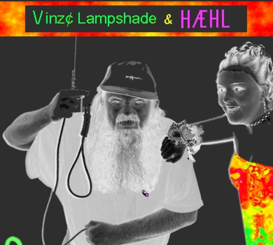 Photo is of Vinz Lampshade and HAEHL